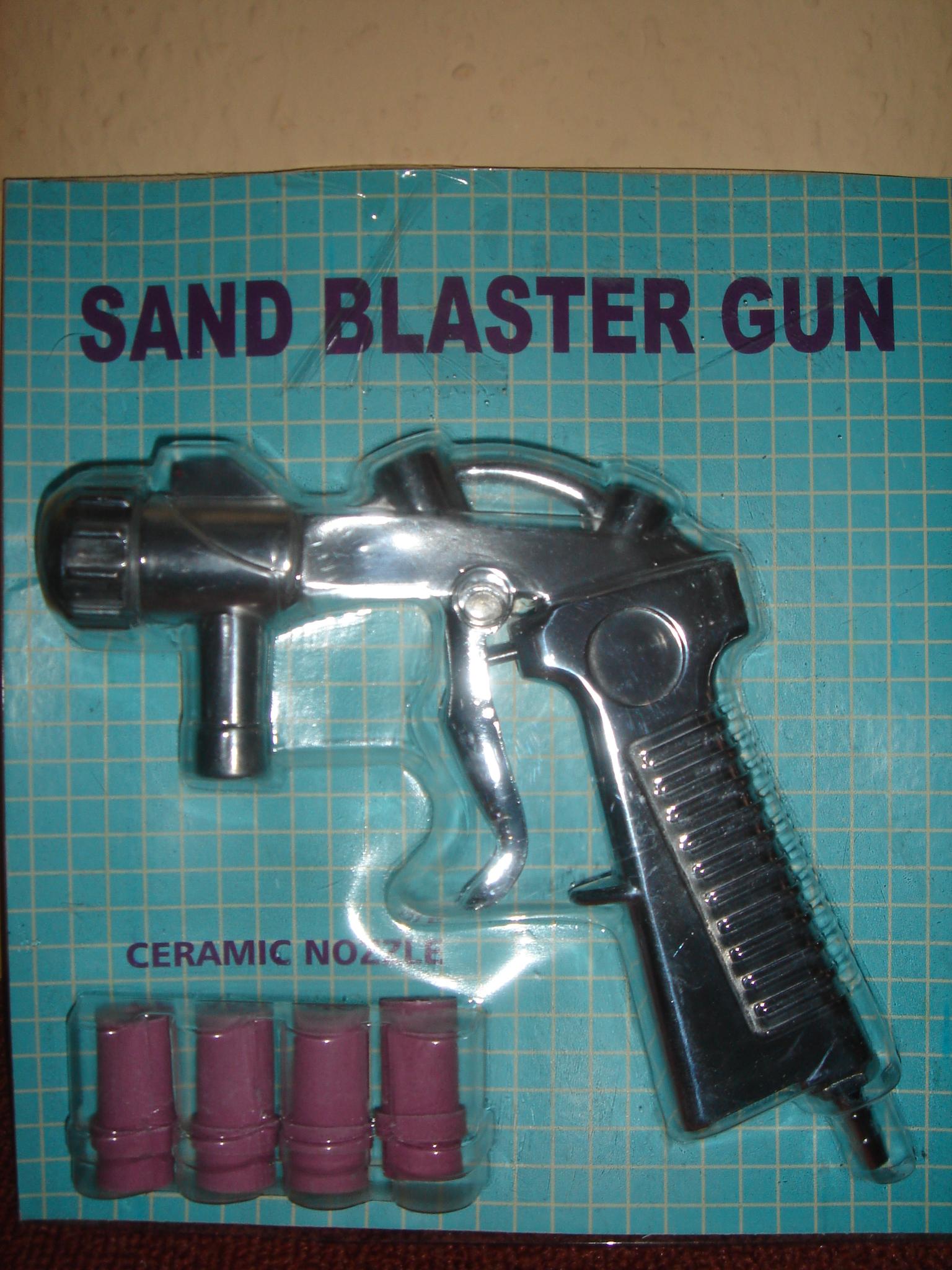 XH-SBCG - homokszóró pisztoly