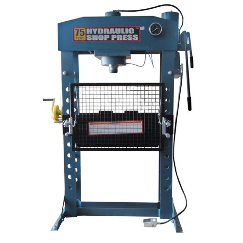 Pneumatikus-hidraulikus műhelyprés (TY75001)