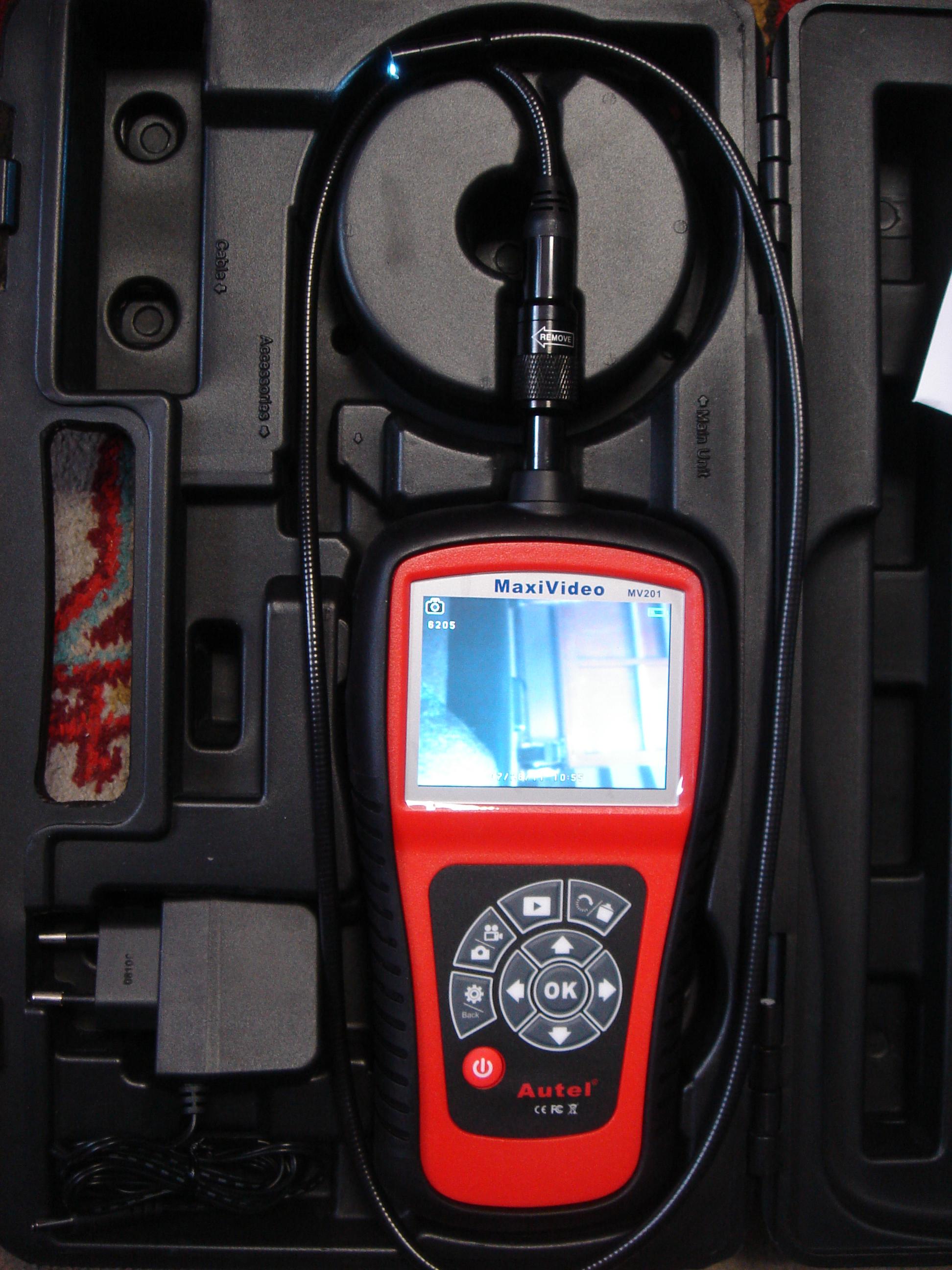 MV201 - hibakereső kamera (1)