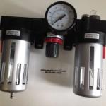 Vízleválasztó, regulátor és olajozó (F (1)