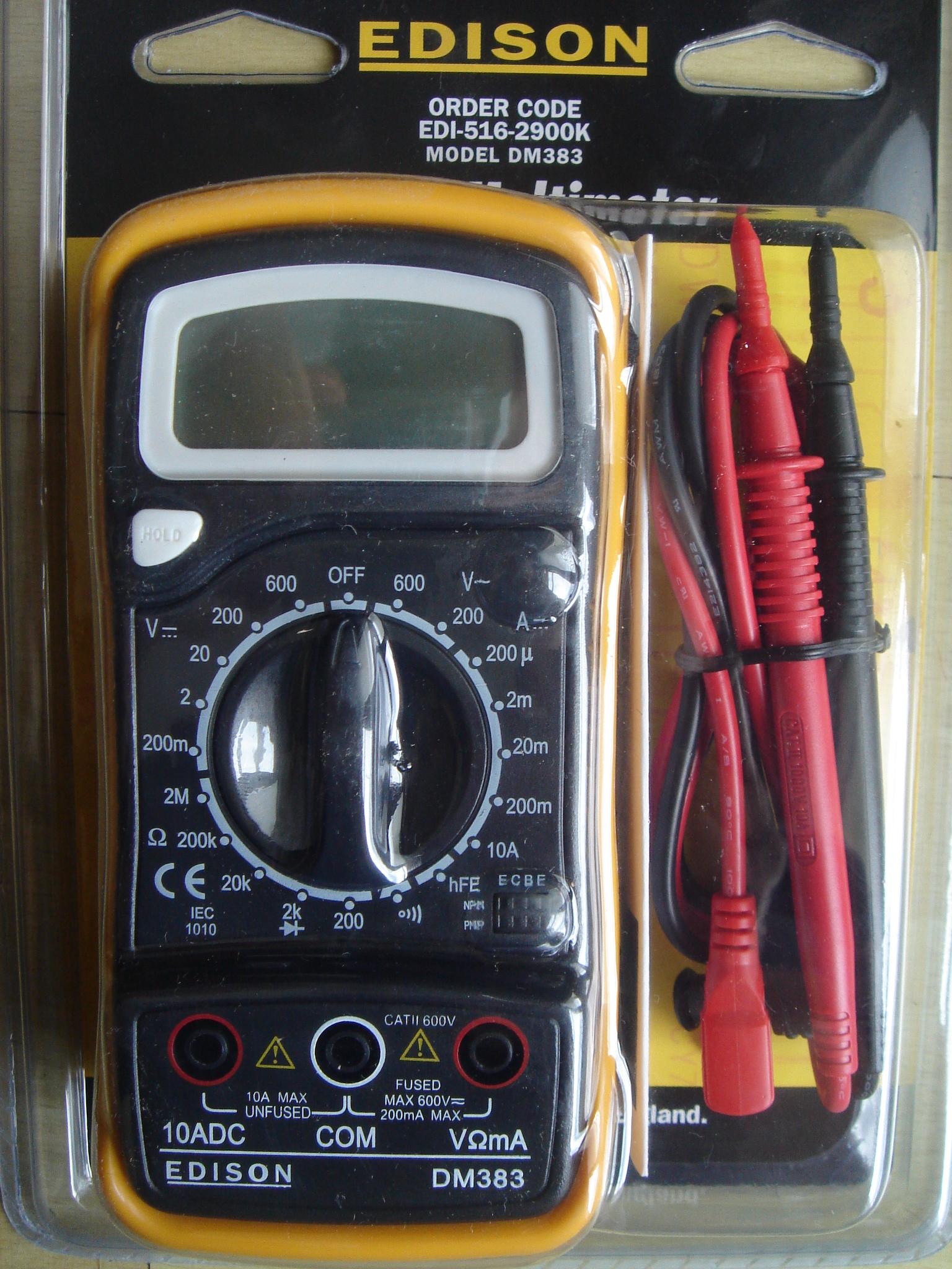 Edison multiméter_516-2900K