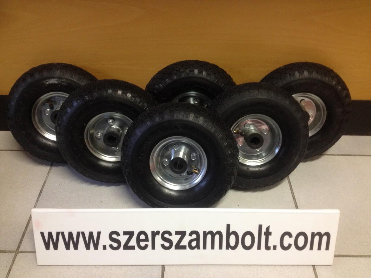 Felfújható fém felnis kerék molnárkocsihoz (1)