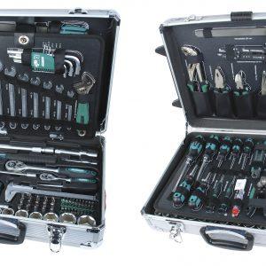 Szerszámkészlet 159 részes gurulós kofferben-MAN-29077