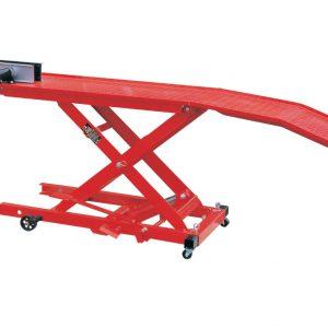 Hidraulikus motorkerékpár emelő, 360kg TRE6407