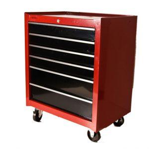 Gurulós szerszámos szekrény, 6 fiókos TBR3106X