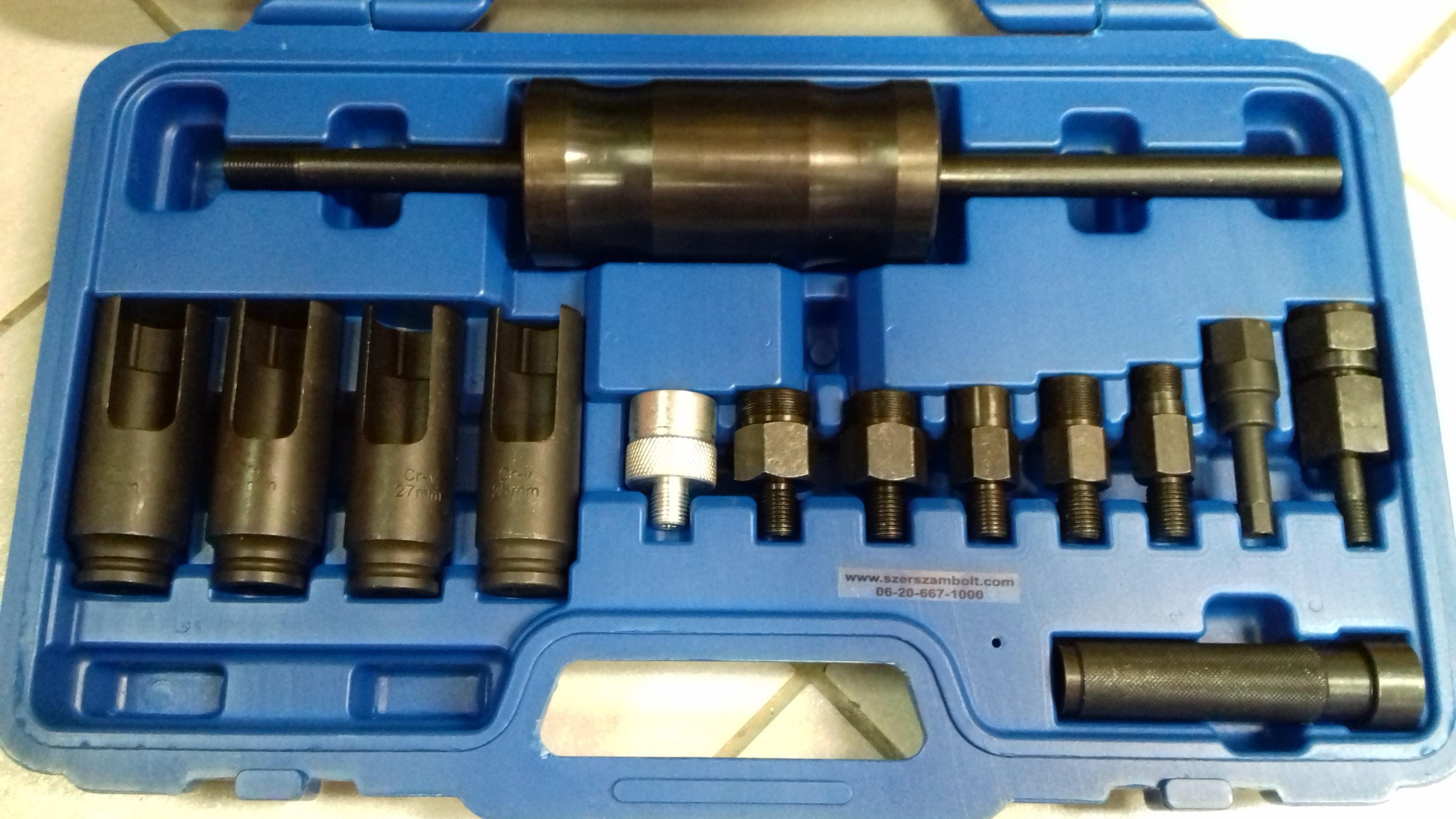 Bosch injektor kiszerelése