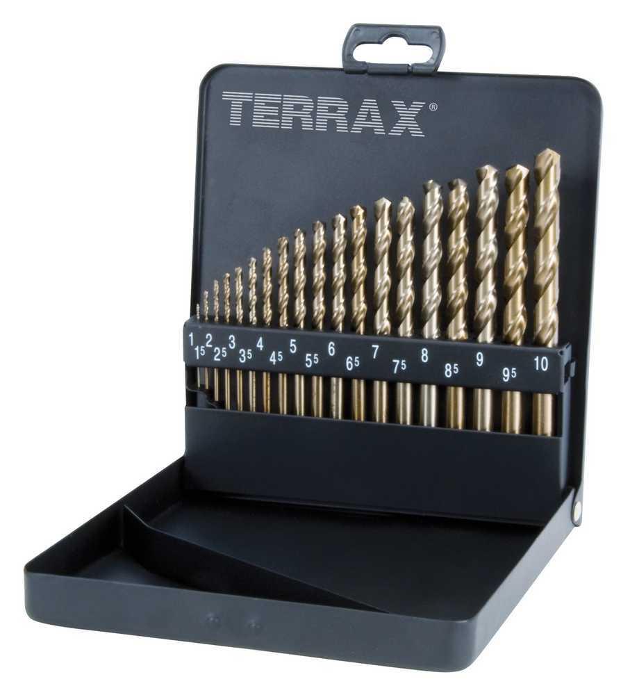 Top RUKO TERRAX csigafúró készlet HSS-Co5 1-10mm A215214 - SZERSZÁM RY13